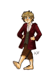 30 days of what inspires me - Day 14 Bilbo by Kaos-Felida