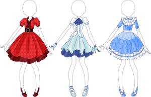 Lolita Dress Adoptable - 1 Left - SALE by Tropic-Sea
