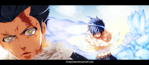 Fairy tail 393 - Gray vs Silver by StingCunha