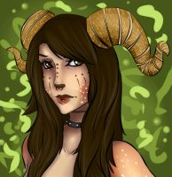 Ram Fawn by lonelion4ever