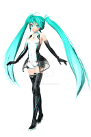 [Dreamy Theater Extend] Miku Racing 2011 by PiettraMarinetta