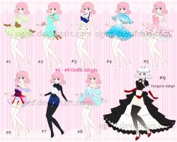 [OPEN] Fashion + 1 Vampire Adopts: SetPrice (5/9) by OginZ