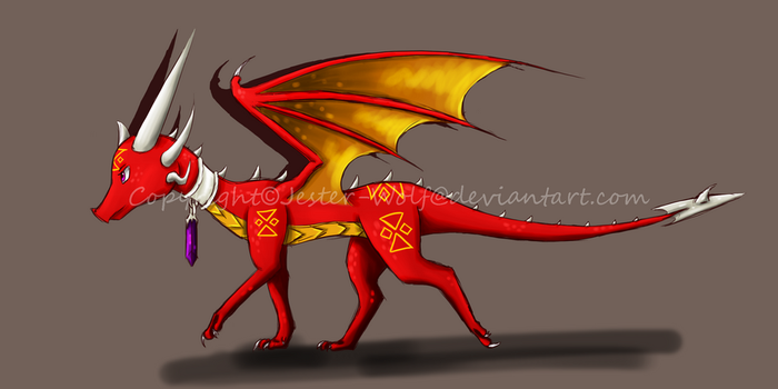 Pyra Colour Concept by Jester-Wolf