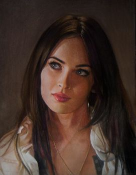 Megan Fox by Lizapoly