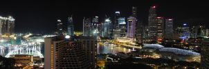 Singaporean Panorama by hariskalin