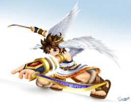 Pit - Kid Icarus Uprising by Scarvii