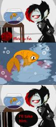 Life with Alliah - Metal the Fish by PlayboyVampire