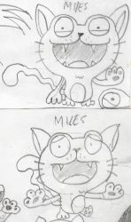 Miles the charming kitteh by S-T-A-N-Z-I-E