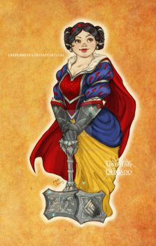 Disney meets Warcraft - Snow White by LiberLibelula