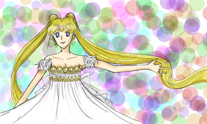 Princess Serenity by Chajiko