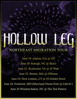 Hollow Leg 2017 Northeast Migration tour by SearingLimb