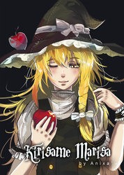 Kirisame Marisa from Touhou by BlackYinpoint
