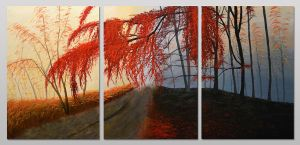 Autumn acrylics by ask0r