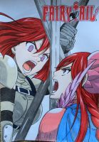 Erza and Erza by Karina-o-e