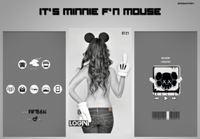 It's Minnie F'N Mouse by SassyMrsK