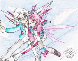 SabuxNatsu Transended Wings by CPcomix