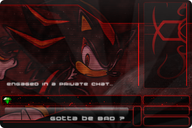 Sonic Adventure 2: Shadow xat private chat back by MikeDarko