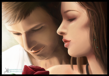 Alistair and Cousland by SarahMillerCreations
