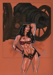 Barda and the Cannon by MMcDArt