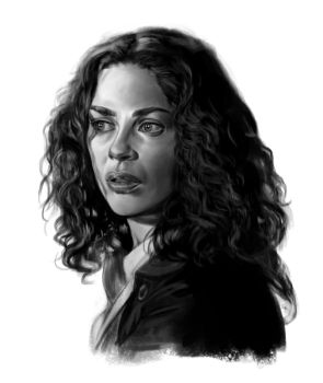 Joanne Kelly sketch 3 by tonyob