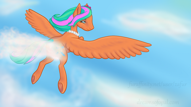 Commission - Summer Breeze Cloud Busting by Zafurra