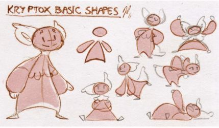 Bara's Guide to Griffians: KT Basic Shapes by Baraayas