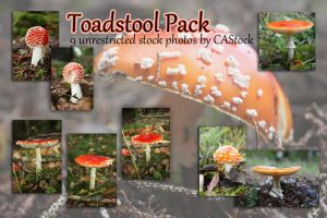 Toadstool pack by CAStock