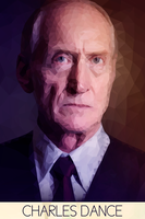Low-Poly Actors: Charles Dance by DevynnHageman