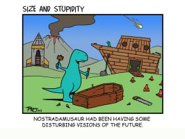 Nostradamasaur by Size-And-Stupidity