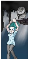 Comics-style Damia by swiftgold