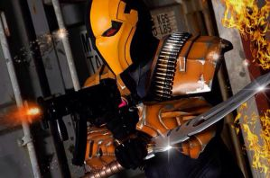 Deathstroke:Injustice - Onslaught by Cadmus130