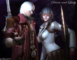 Dante and Lady by Beatriche87