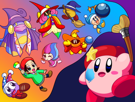 Kirby Star Allies by Coonstito
