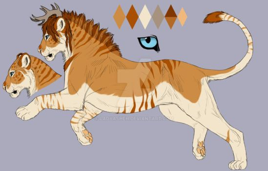 Lioness6ref by LadyAsheh