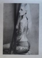 Sexy Nude Girl with Tattoos by xabigal-eyesx