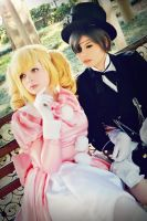 Lizzy and Ciel. by thedarkpriestess