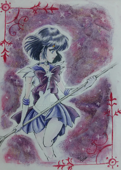 Sailor Saturn by MayaPatch