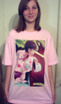 Louise Brooks Bountee tee by QuicheLoraine
