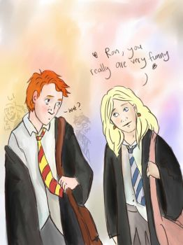 You're really funny, Ron by amynotpond