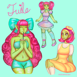 Tuile Doodles by ROGUEKELSEY