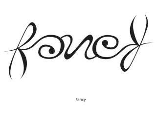 Fancy Ambigram by KeepingYouAwake