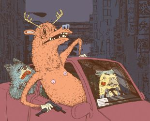 Drive By Nipples by repoghost