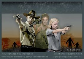 The Walking Dead by kfairbanks