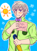 APH: Here Comes The Sun by kahochanlenkunlovers