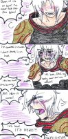 Fan4koma - A screamer by Kitsune-Prophet
