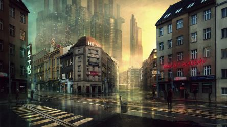 Prague in future by merl1ncz