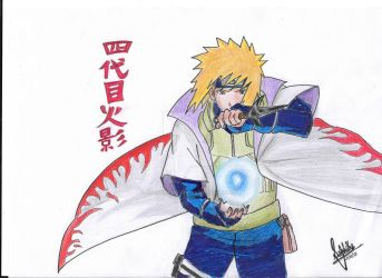 Minato Namikaze (final) by ChaoticTendencies
