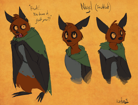Nigel Concept Sketches by Rexfire91