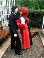 Seb and Grell 'Sexy back' by Hirako-f-w