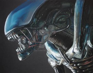 Alien by Solty88
